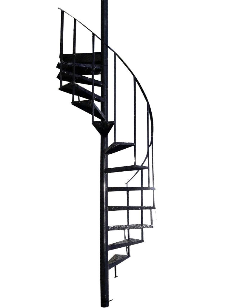 Escalera Caracol De Metal Hierro X Metro X 0.60 Ancho - $ 1.879,00 ...