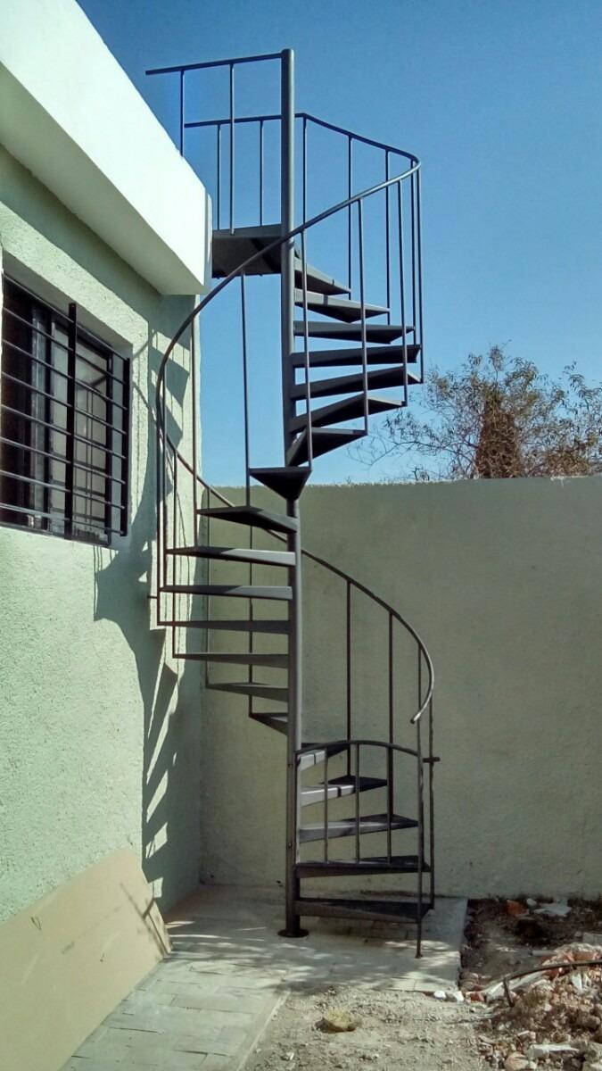 Escalera caracol hasta 300cm altura escalones 50cm chapa - Medidas escalera caracol ...