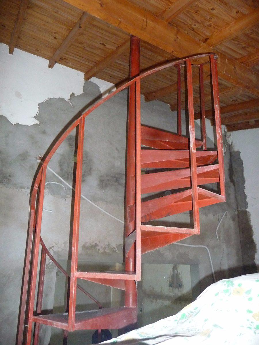 Escalera Caracol Hierro - 14 Escalones - Super Oportunidad - $ 3.800 ...