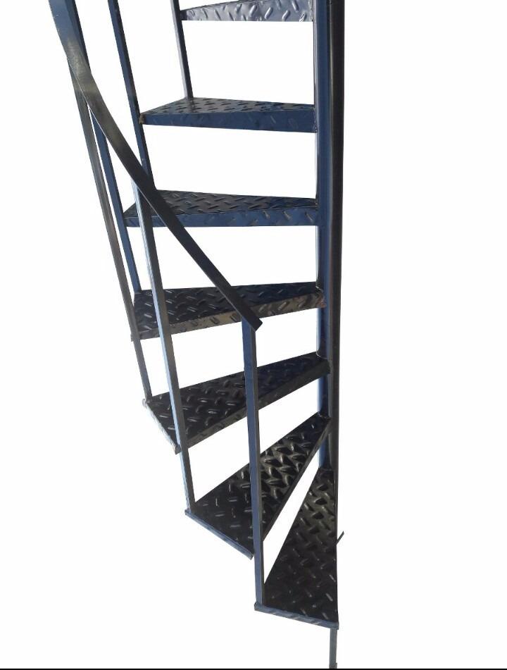 Escalera Caracol Hierro Chapa Metal 3m X 60cm Estandar - $ 3.699,00 ...