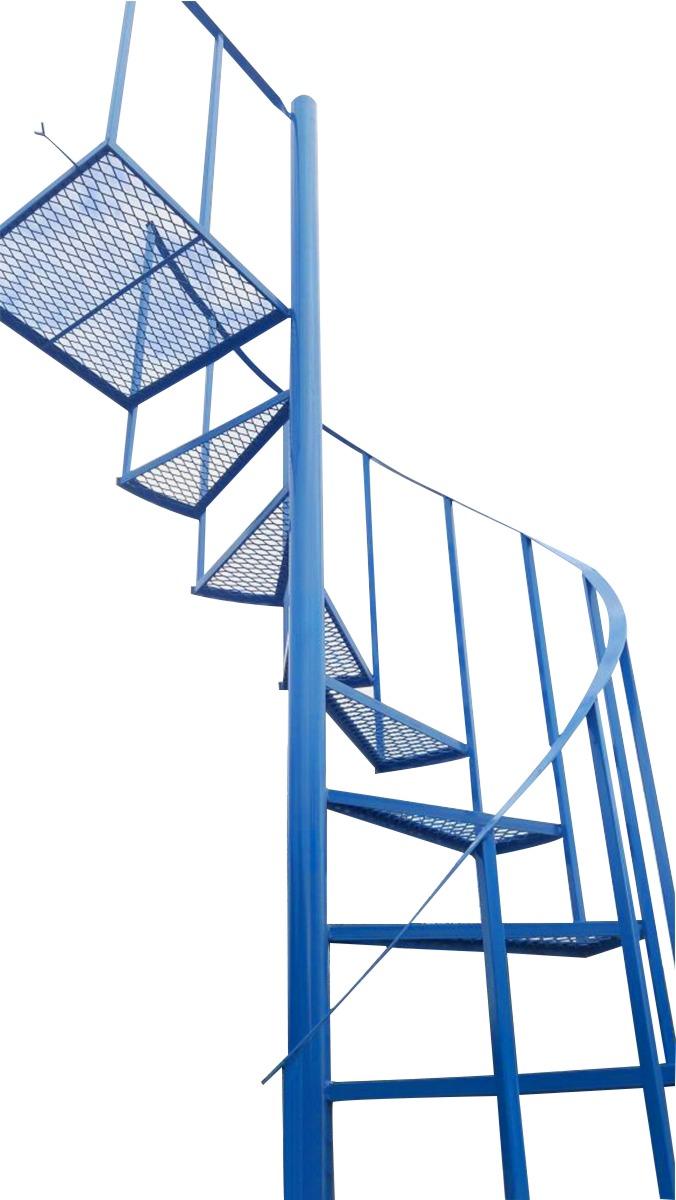 Escalera Medio Caracol Cheap Ascensor Del Pilar Escaleras De  ~ Dimensiones Escalera De Caracol