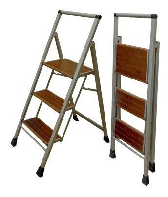 Escalera de 3 Pelda/ños de madera plegable