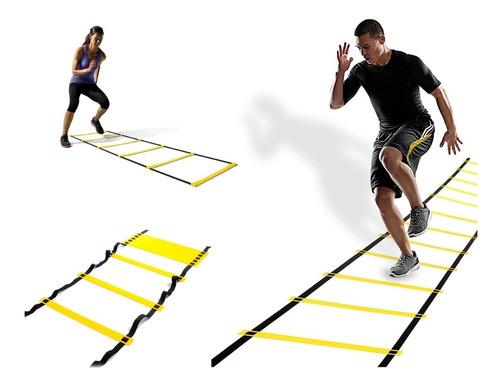 escalera coordinación 10 escalones rigidos 4,5 mts agilidad