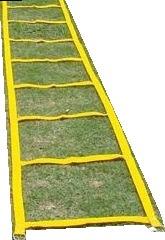 escalera coordinacion pliometria 10 escalones 50 x 50 cm