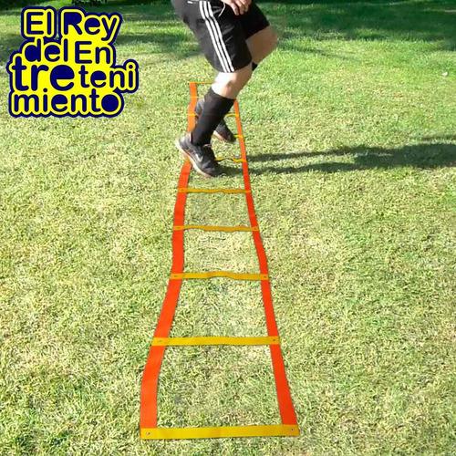 escalera coordinacion saltos 10 escalon entrenamiento el rey