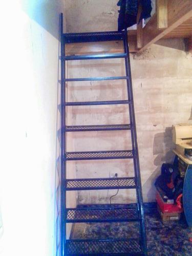 escalera corta hasta 2.5mt para entrepiso reforzada la mejor