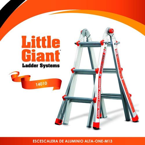 escalera de aluminio alta- one m13 tipo i little giant 14010
