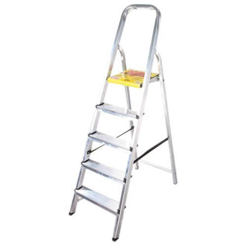 escalera de aluminio aro 7 escalones