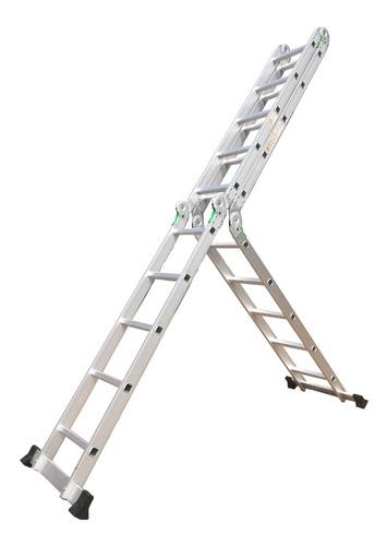 escalera de aluminio articulada 4x5 multiproposito - rex