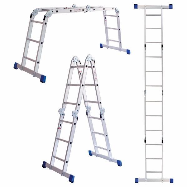 Escalera de aluminio articulada plegable multiladder 3 for Escalera aluminio plegable articulada precio