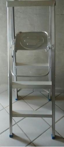 escalera de aluminio de 4 tramos