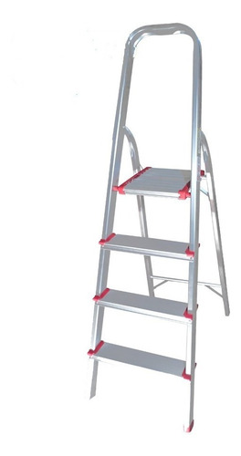 escalera de aluminio familiar 4 escalones panther pal404