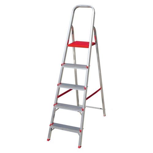 escalera de aluminio hasta 120kg 5 escalon gratis a belgrano