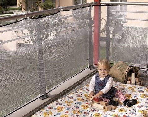 escalera de balcón yct red de seguridad para niños (118 p...