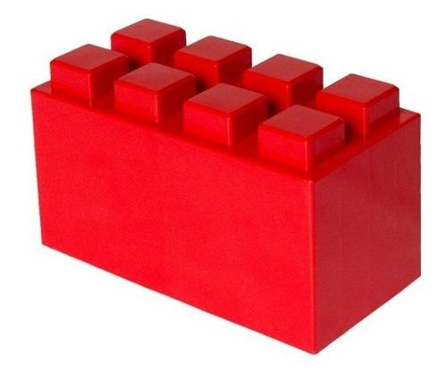 escalera de bloques plásticos 3 escalones - ladrillo gigante