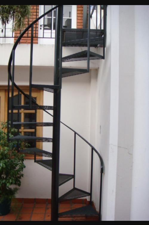 Escalera de caracol a medida en mercado libre - Medidas escaleras de caracol ...