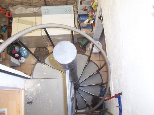 escalera de caracol sevilla