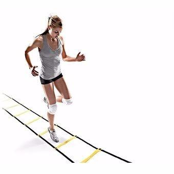 escalera de entrenamiento + coordinación + agilidad 6 metros