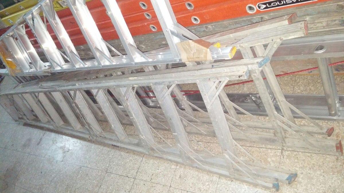 Escalera de fibra y aluminio en todos los tama os for Escaleras de aluminio usadas