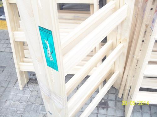 Escalera de madera de pintor 8 escalones altura for Escaleras de madera para pintor precios