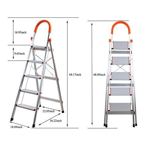 escalera de mano plegable de aluminio escalera de mano pleg