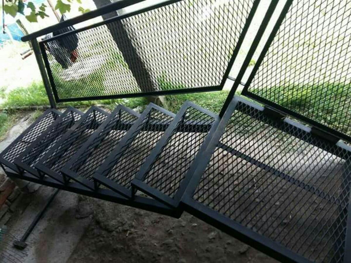 escalera de maya reforzada para exterior