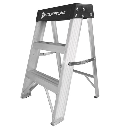 escalera de tijera cuprum c-2012-02n 136 kg uso rudo