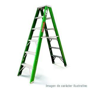 escalera de tijera doble fibra de vidrio 10 esc akron 77-92