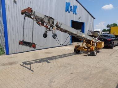 escalera de trailer para izaje de material / mudanzas/ carga
