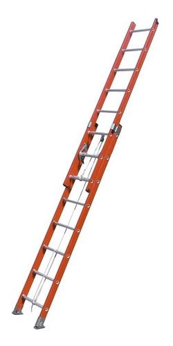 escalera dieléctrica extensible kushiro 2 x 14 c60