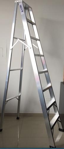 escalera en aluminio 8 pasos