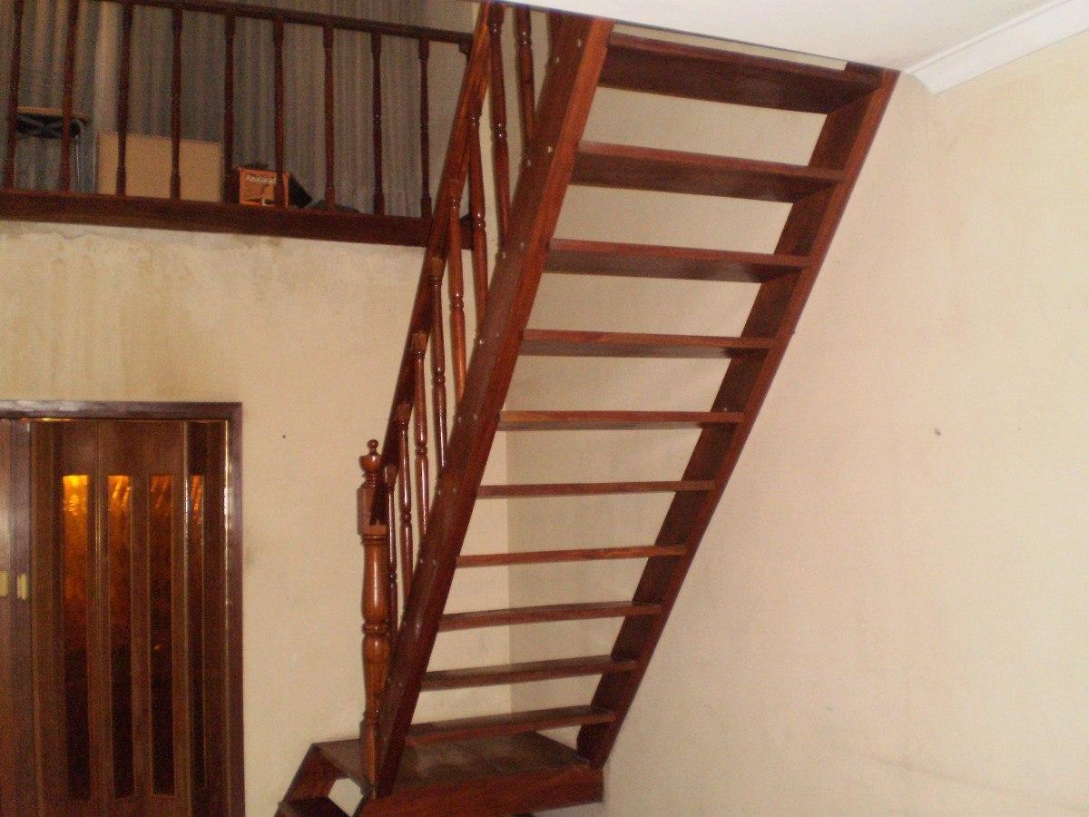 escalera en madera virar