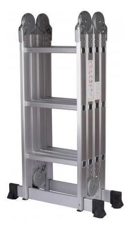 escalera, escala, de aluminio plegable 4x3x3.6m