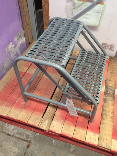 escalera escalerilla escalon de acero uso industrial