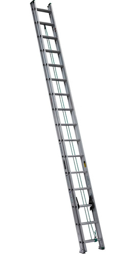 escalera extensible de aluminio 405 - 32 escalones cuprum gp