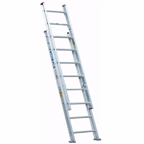 escalera extensible domestica de aluminio marca inco.
