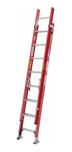 escalera extension fibra 16 pasos / 5.0 mts 114 kg