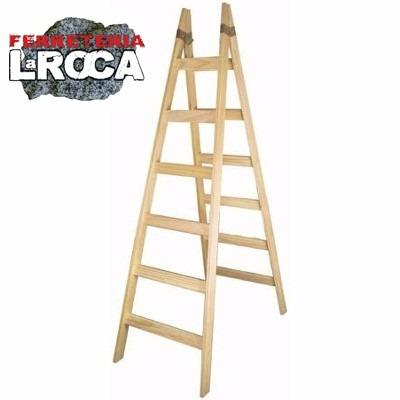 escalera madera tipo pintor pino 10 escalones