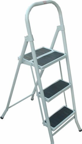escalera metalica plegable 3 escalo familiar gratis belgrano