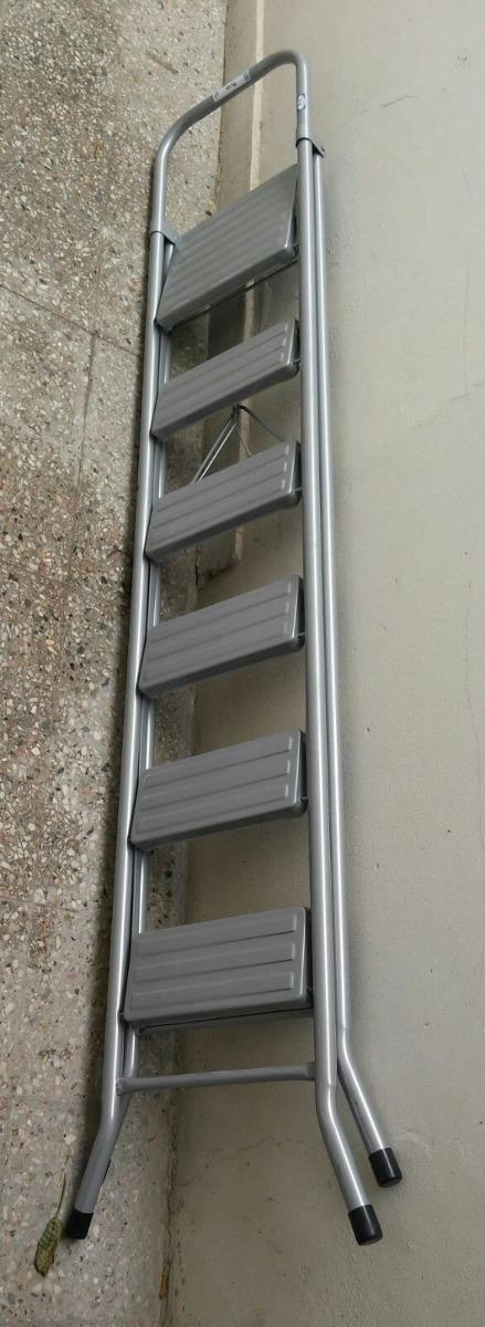 escalera metalica plegable escalones peldaos v urquiza