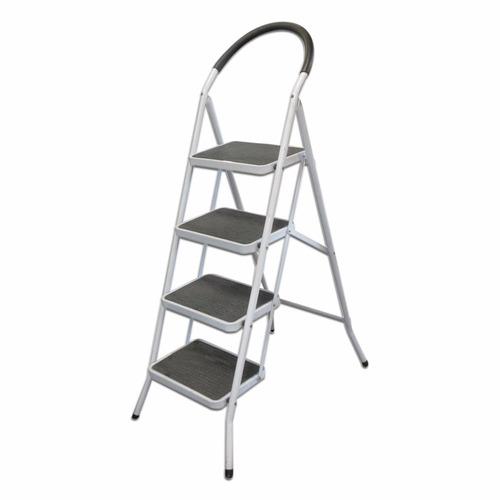 Escalera met lica plegable de 4 escalones en for Escalera metalica plegable precio