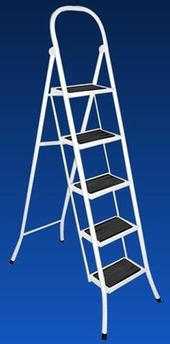 escalera metalica reforzada plegable 6 escalon familiar rmej