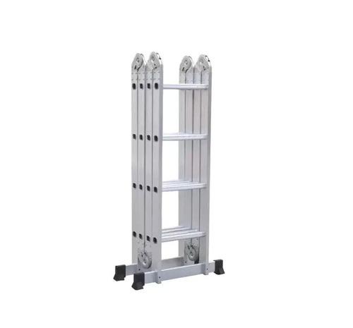 escalera multifuncion aluminio pleglable 4,70m kulbart 4x4