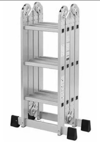 Escalera multiposicional andamio de aluminio sharper image - Escalera andamio aluminio ...