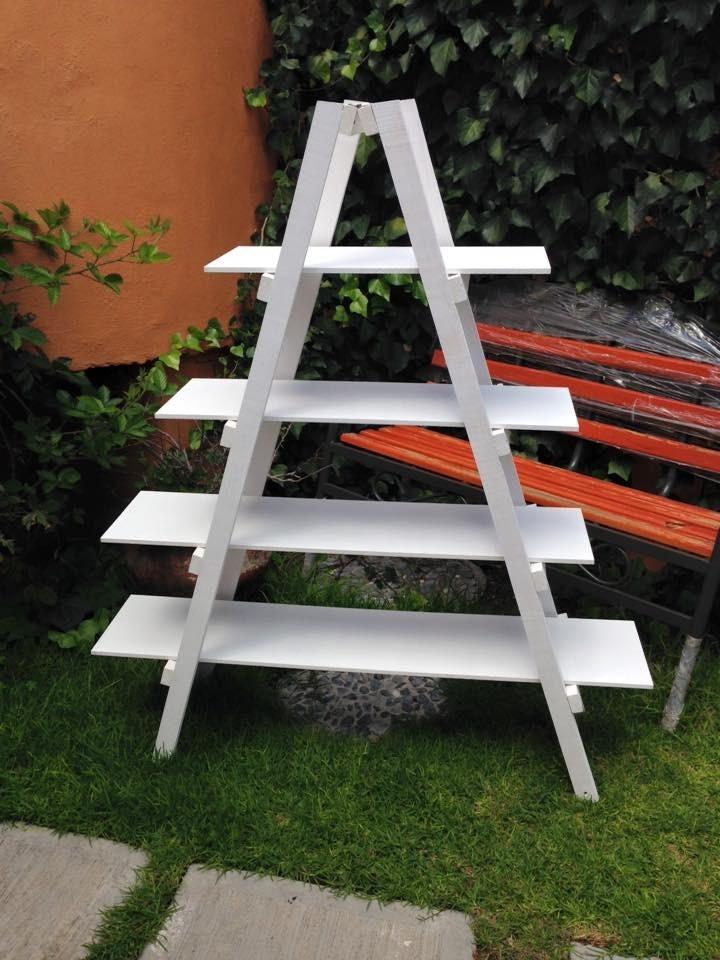 Escalera para mesa de dulces en mercado libre - Escaleras de madera adorno ...