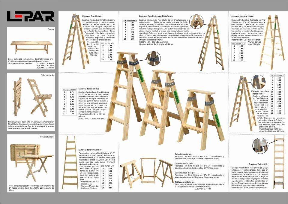 Escalera Pintor Prof / 9 Escalones 2.70 Mts Ferreteria Tigre ...