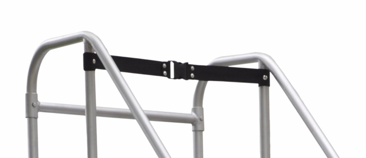 escalera plataforma tipo avi n en acero 15 pasos 3 0 mts. Black Bedroom Furniture Sets. Home Design Ideas