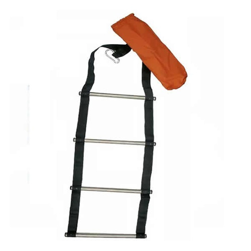 escalera plegable (cinta inox)  (no envios)