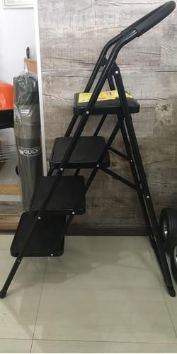 escalera portátil de cuatro escalones simple solution