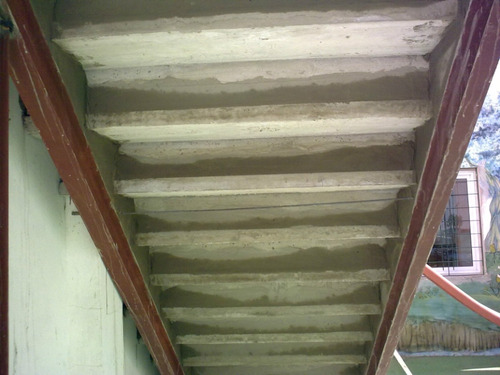escalera premoldeada de hormigon